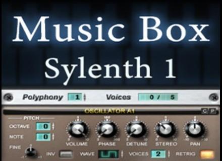 Le Lotus Bleu Music Box for LennarDigital Sylenth1 VSTI