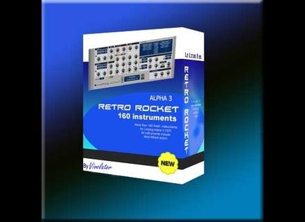 Le Lotus Bleu Retro Rocket for Linplug Alpha 3 VSTi