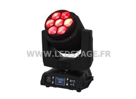 Ledstage LYRE LED WASH avec ZOOM LS7X15