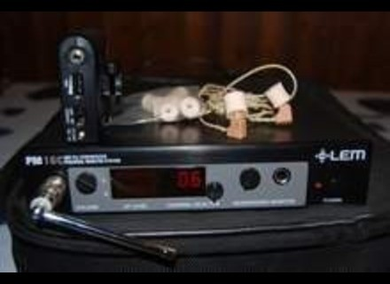 LEM Ears monitors pm 16c-pro