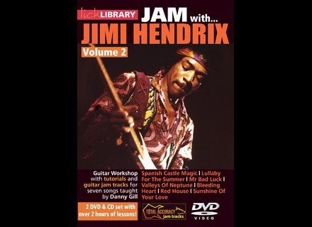 Lick Library Jam With Jimmy Hendrix Vol. 2