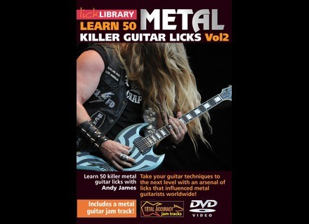 Lick Library Learn 50 Killer Metal Guitar Licks Vol.2