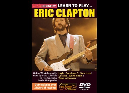 Lick Library Learn to Play Eric Clapton