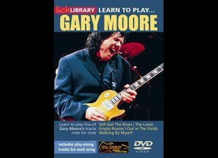 Lick Library Learn to Play Gary Moore