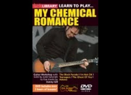 Lick Library Learn to Play My Chemical Romance Guitar Tuition DVD
