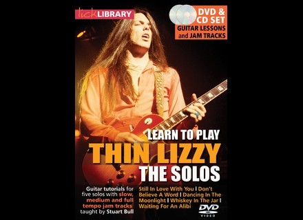 Lick Library Learn To Play Thin Lizzy - The Solos