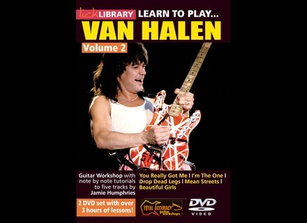 Lick Library Learn To Play Van Halen Volume 2