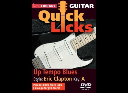 Lick Library Quick Licks - Up Tempo Blues in the Style of Eric Clapton