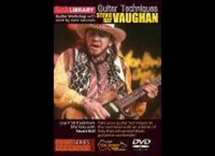 Lick Library Stevie Ray Vaughan guitar tuition DVDs