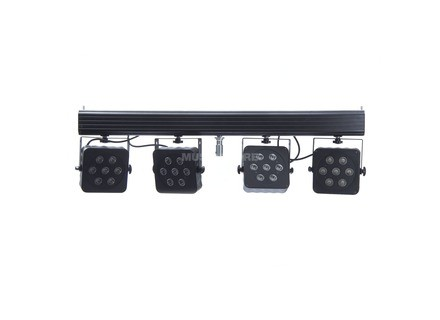 Lightmaxx Platinum CLS-3 QUAD-LED incl. Commande IR, 28x8W RGBW