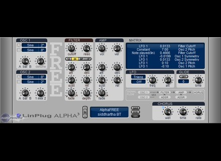 LinPlug Free Alpha 3 [Freeware]