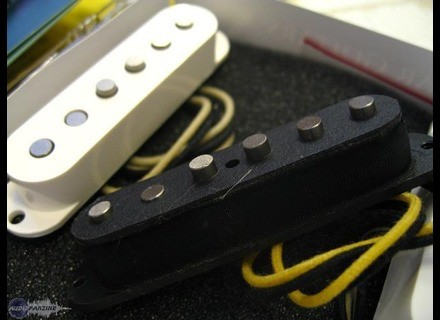Lollar Vintage Blackface Stratocaster Staggered