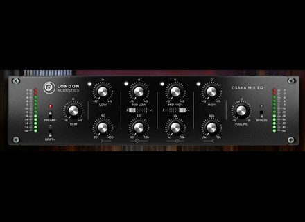 London Acoustics Osaka Mix EQ