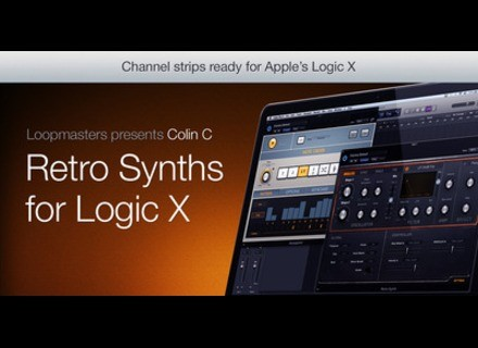 Loopmasters Essential Retro Synths for Logic X news ...