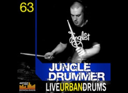 Loopmasters Jungle Drummer - Live Urban Drums