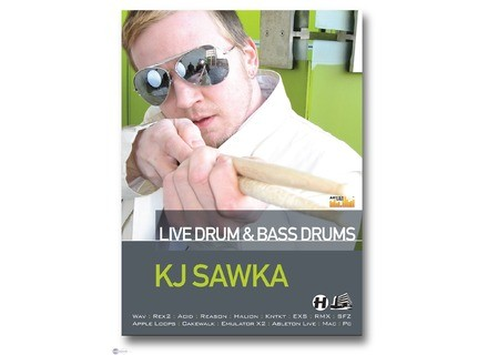 Loopmasters Live Drum And Bass Drums - K J Sawka
