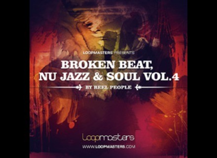 Loopmasters Reel People Broken Beat Nu Jazz and Soul Vol. 4