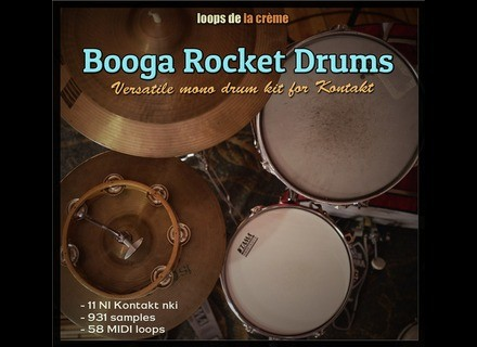 Loops de la Crème Booga Rocket Drums