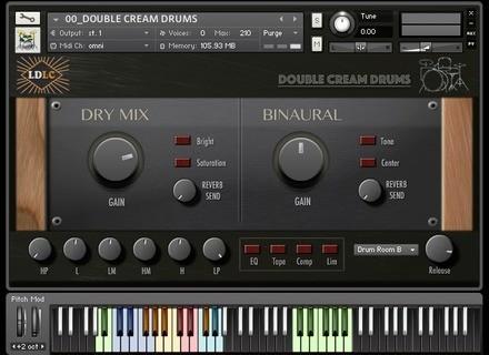 Loops de la Crème Double Cream Drums