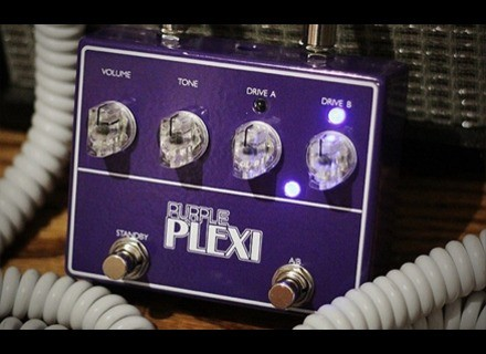Lovepedal Purple Plexi Limited Edition