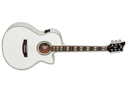 LTD AC-10E - Pearl White