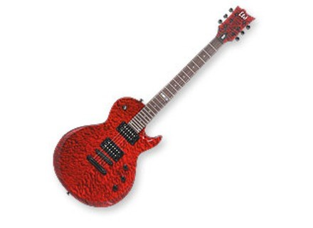 LTD EC-100QM - See Thru Black Cherry