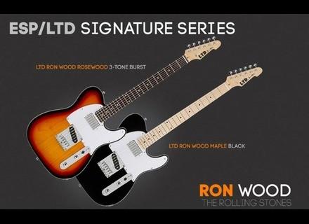 LTD Ron Wood Rosewood - 3-Tone Burst