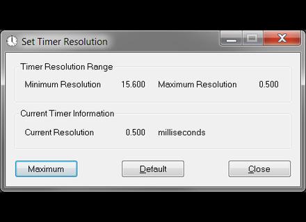Lucas Hale Timer Resolution v2.0