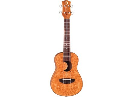 Luna Guitars Maple Burl Concert