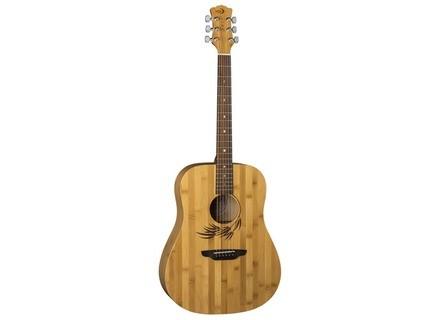 Luna Guitars Woodland Bamboo Dreadnought