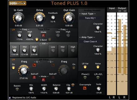 LVC-Audio Toned PLUS