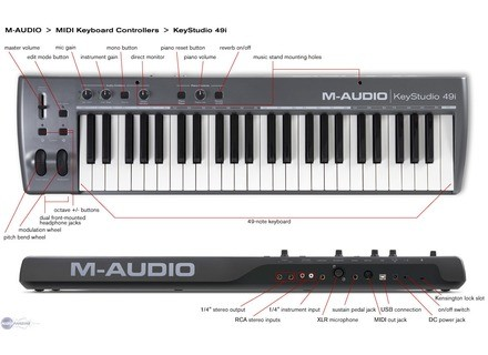 M-Audio KeyStudio 49i