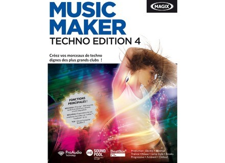 Magix Music Maker Techno Edition 4
