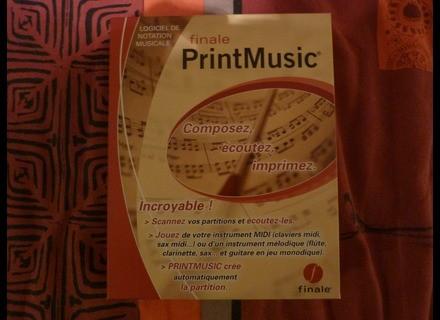 MakeMusic Finale PrintMusic 2009