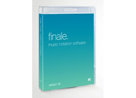 MakeMusic Finale Version 25