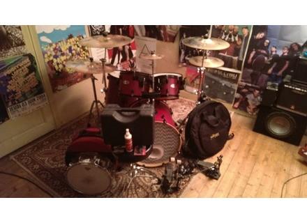 "Mapex kit rock 20"" cherry wood"
