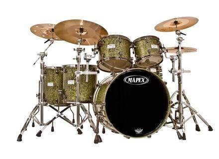 Mapex Saturn Birch/Walnut Special Edition - Moss Green