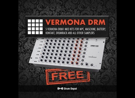 Marco Scherer Drum Depot: Vermona DRM