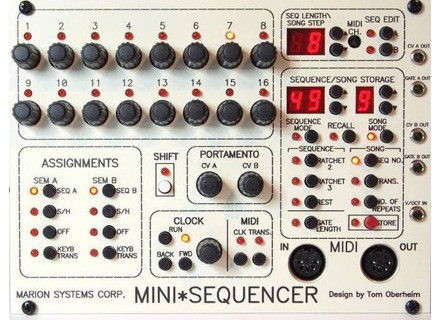 Marion Systems Mini Sequencer