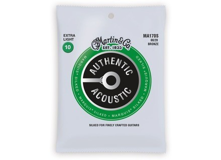 Martin & Co Authentic Acoustic 80/20 Bronze Marquis Silked Strings