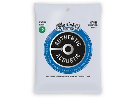 Martin & Co Authentic Acoustic 92/8 Phosphor Bronze SP Strings