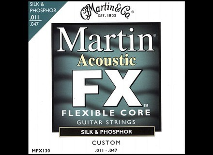 Martin & Co FX Silk & Phosphor MFX130 Custom 11-47