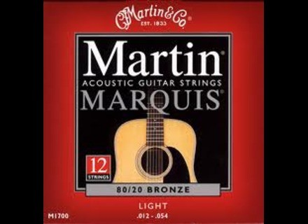 Martin & Co Marquis 80/20 Bronze M1700 Light 12-String 12-54 12-30