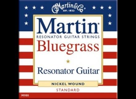 Martin & Co Resonator Guitar Bluegrass M980 Standard 16-56