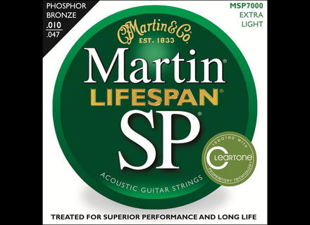 Martin & Co SP Lifespan 92/8 Phosphor Bronze MSP7000 Extra Light 10-47