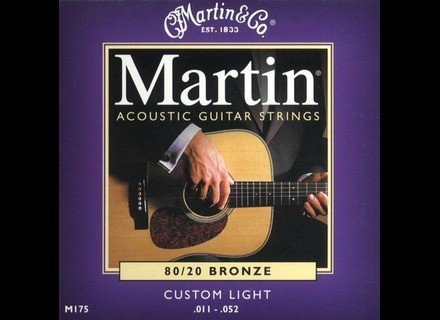 Martin & Co Traditional 80/20 Bronze M175 Custom Light 11-52