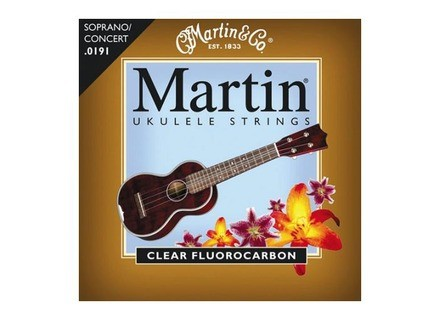 Martin & Co Ukulele Clear Fluorocarbon Strings