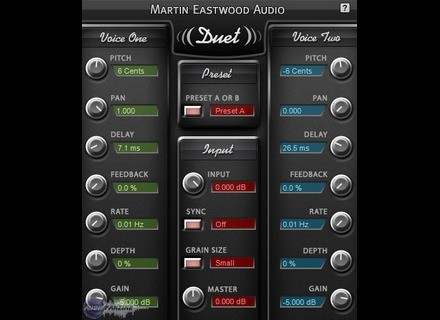 Martin Eastwood Audio Duet