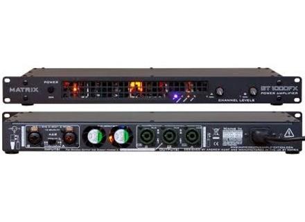 Matrix Amplification GT1000FX 1U