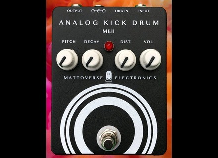 Mattoverse Electronics Analog Kick Drum MKII